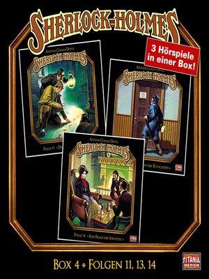 cover image of Sherlock Holmes--Die geheimen Fälle des Meisterdetektivs, Box 4