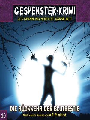 cover image of Gespenster-Krimi, Folge 10