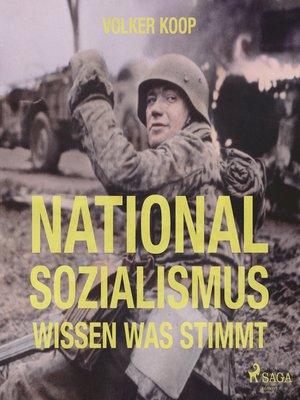 cover image of Nationalsozialismus (Ungekürzt)