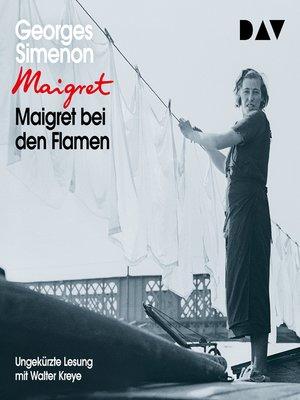 cover image of Maigret bei den Flamen