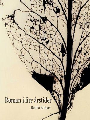 cover image of Roman i fire årstider