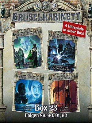 cover image of Gruselkabinett, Box 23