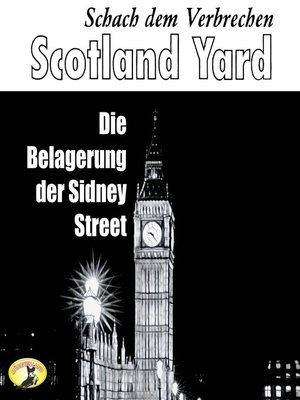 cover image of Scotland Yard, Schach dem Verbrechen, Folge 4