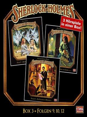 cover image of Sherlock Holmes--Die geheimen Fälle des Meisterdetektivs, Box 3