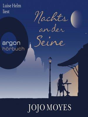 cover image of Nachts an der Seine
