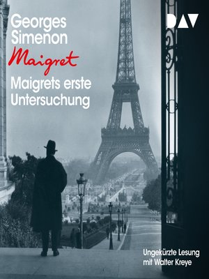 cover image of Maigrets erste Untersuchung
