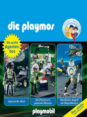 cover image of Die Playmos, Die große Agenten-Box, Folgen 19, 23, 31