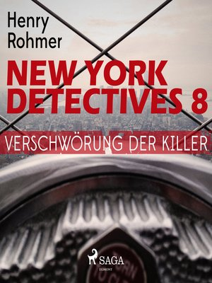 cover image of Verschwörung der Killer--New York Detectives 8