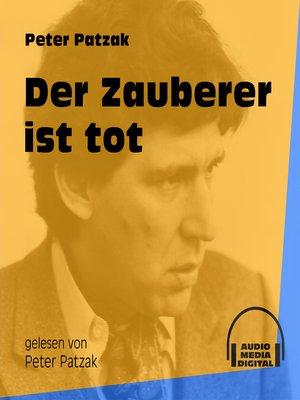 cover image of Der Zauberer ist tot