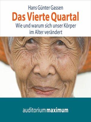 cover image of Das Vierte Quartal