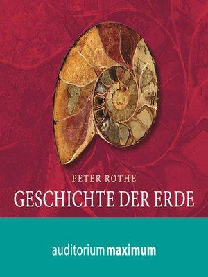 cover image of Geschichte der Erde