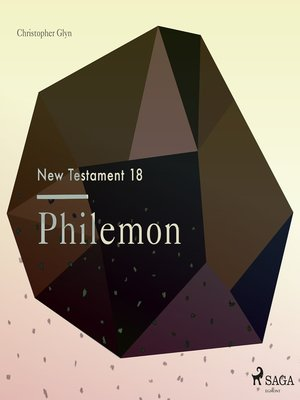 cover image of Philemon--The New Testament 18