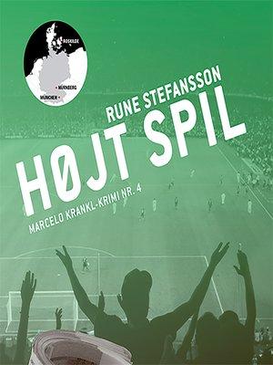 cover image of Højt spil