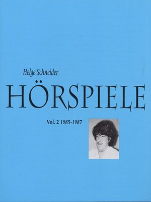 cover image of Hörspiele II