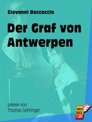 cover image of Der Graf von Antwerpen