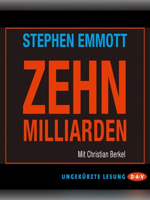 cover image of 10 Milliarden