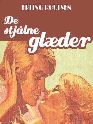 cover image of De stjålne glaeder--Succesromanen 6