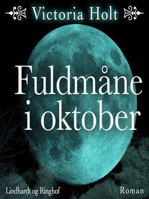 cover image of Fuldmåne i oktober