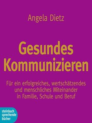 cover image of Gesundes Kommunizieren