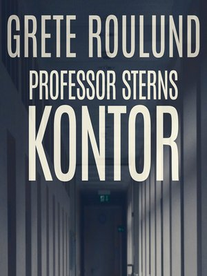 cover image of Professor Sterns kontor