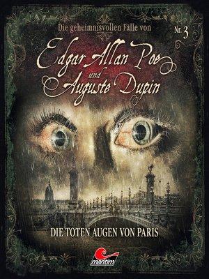 cover image of Edgar Allan Poe & Auguste Dupin, Folge 3