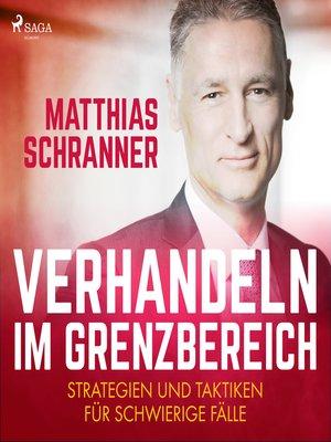 cover image of Verhandeln im Grenzbereich