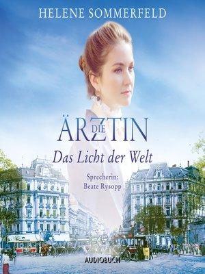 cover image of Die Ärztin