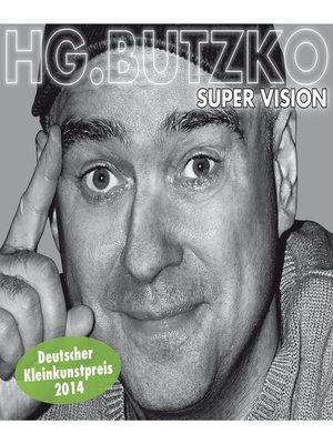 cover image of HG. Butzko, Super Vision