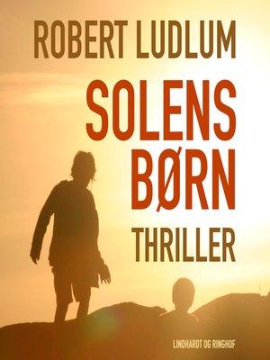 cover image of Solens børn