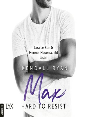 cover image of Hard to Resist--Max