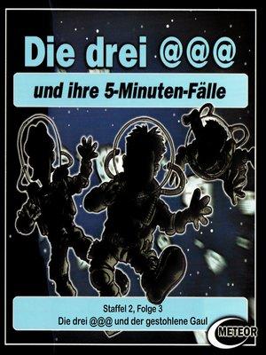 cover image of Die drei @@@ (Die drei Klammeraffen), Staffel 2, Folge 3