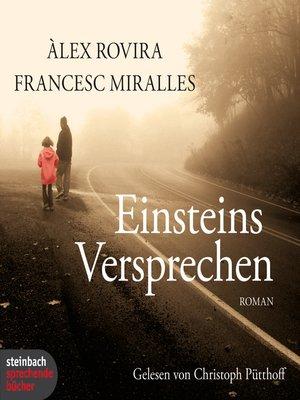 cover image of Einsteins Versprechen