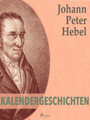 cover image of Kalendergeschichten