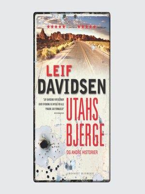 cover image of Utahs bjerge og andre historier
