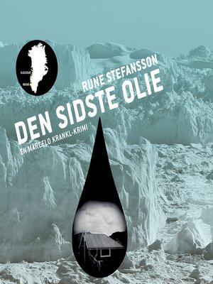 cover image of Den sidste olie