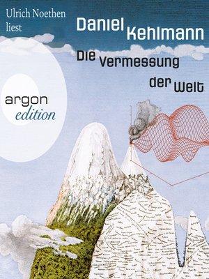 cover image of Die Vermessung der Welt