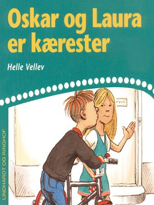 cover image of Oskar og Laura er kærester