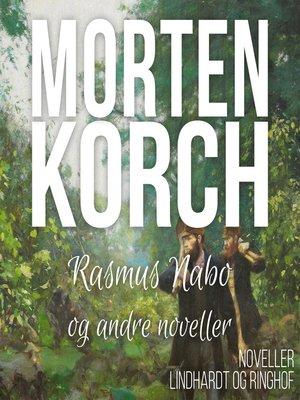 cover image of Rasmus Nabo og andre noveller