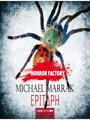 cover image of Epitaph--Horror Factory 13