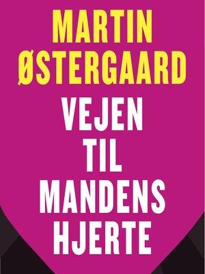cover image of Vejen til mandens hjerte