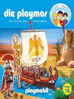 cover image of Die Playmos--Das Original Playmobil Hörspiel, Folge 18