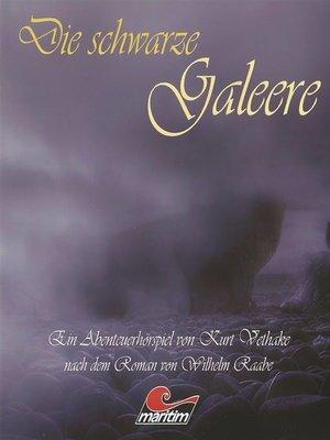 cover image of Die schwarze Galeere