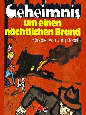 cover image of Enid Blyton, Geheimnis um einen nächtlichen Brand