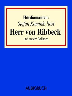 """cover image of """"Herr von Ribbeck"""" und andere Balladen--Hördiamanten"""