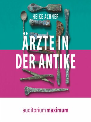 cover image of Ärzte in der Antike