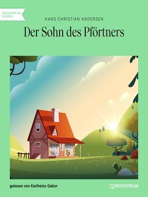cover image of Der Sohn des Pförtners