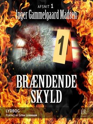 cover image of Afsnit 1--Brændende skyld 1