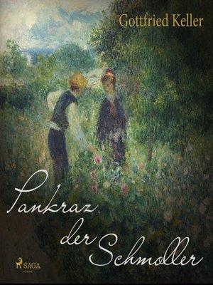cover image of Pankraz der Schmoller