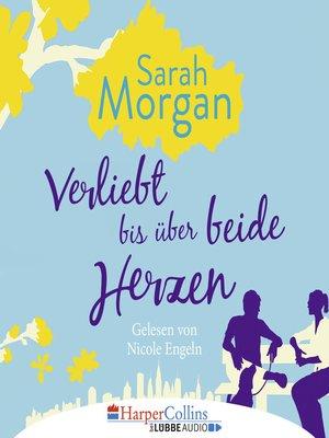 cover image of Verliebt bis über beide Herzen