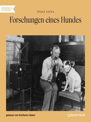 cover image of Forschungen eines Hundes
